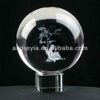Crystal clear glass ball ornaments bulk