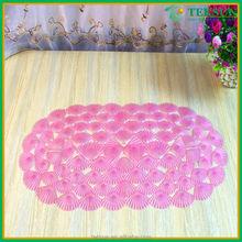 Comfortable And Soft Feeling Quick Dry PVC Anti-Slip Shower Bath Mat