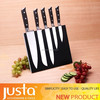 2016 Chinese-style 5 pcs Steel Head Knife Set With Magnetic Holder