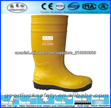 de pvc de seguridad botas