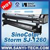 SinoColor SJ-1260 Digital Flex Printing Machine Price, 3.2m With Epson DX7 Head