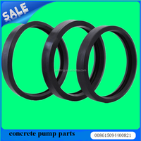 The free samples concrete pump truck parts concrete rubber gasket / rubber seal/silicone rubber round seal gask from cangzhou