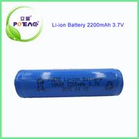 li-ion battery 3.7V 2200mAh rechargeable battery for medical equipment