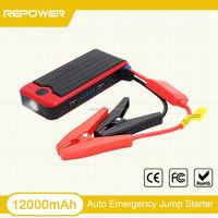 Multi-function Car emergency kit 12V lithium battery mini jump starter 12000mAh