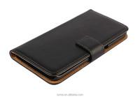 Premiun Genuine Leather Wallet Flip Case For Samsung Galaxy S6 Edge