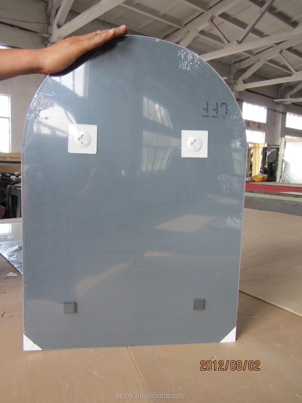 mm de espesor de de plata bao espejo x cm con el borde pulido borde