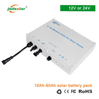 Solar module system Lithium ion lifepo4 12V 24V 48V battery pack 40ah 50ah