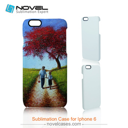 Fashine design 3d film sublimation mobile phone cover for iPhone 6