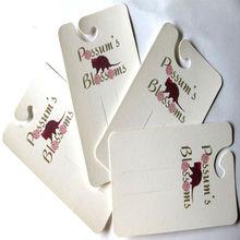 350g white card hair clip display cards