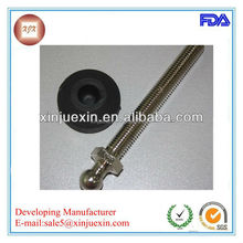 plastic protective vibration absorbing mount/machine leg vibration absorbe