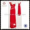 DL50385 red evening dress factory wholesale clothing wedding party dresses