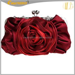 Genuine Fashion Silk Women Clutch bag Wholesale 2015