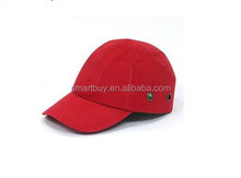 safety 100%Cotton colorful options red bump cap liner baseball caps