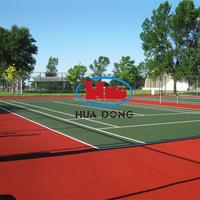 High Quality 6mm Tennis Court Sport Material Rubber Flooring Mat
