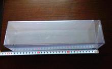 Transparent PVC square plastic box 78*78*280-480MM
