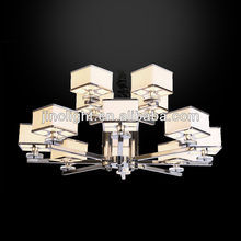 Two layers modern hotel large pendant lamps