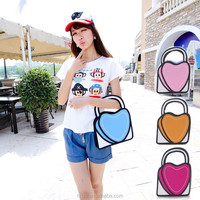 HFR-YB39 Cute girls hearts small purse and lining fabric for handbag distributors in china
