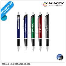 Metallic Metal Triangular Ballpoint Promotional Pen (Lu-Q31334)