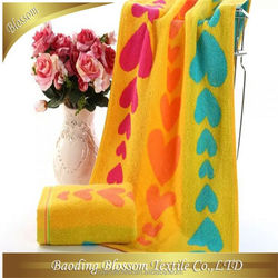 custom made cotton velour terry good quality china manufacture bamboo and organic cotton towel