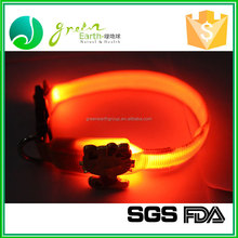 Hot Selling High Quality shining dog collar, dog collar with LED