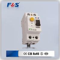 2 pole mcb breaker, electric leakage circuit breaker rccb/elcb, 32 amp 40a rccb