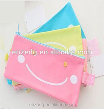 China professional bag factory produce pvc pencil pouch with zipper