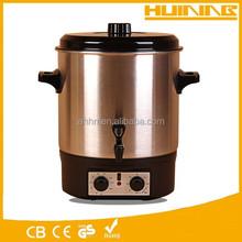 wholesale 16L kitchen sterilizer cooking pot with mixer