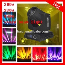 2015 most hot 200w/230w moving head spot led stage lighting/beam 200/beam230