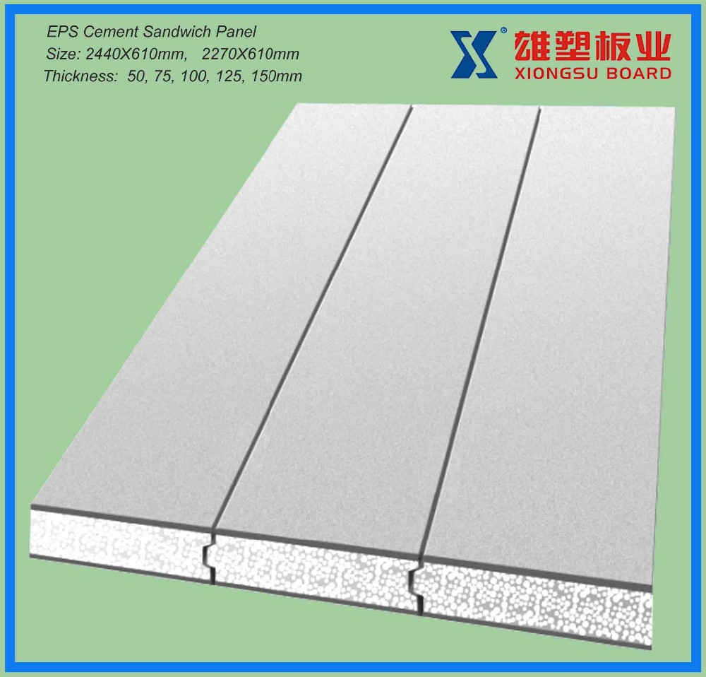 Eps Building Panels For Home : Building material eps sandwich panel