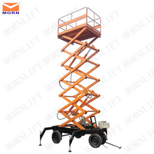 Most durable mobile hydraulic scissor personal lift