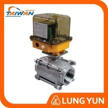 Electric stainless steel 1/2 ~ 4 spring return ball valve