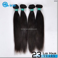 First Selling Good Feedback No Shedding No Tangle Unprocessed Full Cuticle No Dry Virgin Human 3 kg name brand hair extension