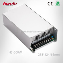 HS-500W 12V 40A LED driver with CE ROHS KC high warranty high efficiency