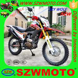 New design sky wolf off-road motorcycle with best price