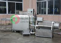 Shenghui professional developed automatic fish cleaning machine/fish washing machine,fish processing machine