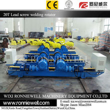 Screw welding rotator