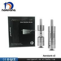 Bottom dual coil kanger clearomizer Best price Genuine Kangertech Aerotank V2 Glass Clearomizer
