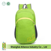 New waterproof folding bag outdoor travel backpack nylon fabric for backpack