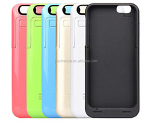 3500mAh Power Bank Case External Backup Battery Charger Case For iPhone 6 High Quality