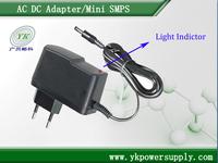 USA/UK/EU/AU plug ac dc adapter power adapter 100V~240VAC to 12V