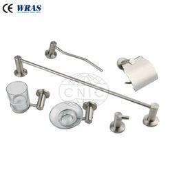 6 pcs Chrome plated cheap bathroom accessories sets