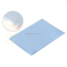 Free sample from Wan Jiang factory hand zipper drawing waterproof plastic art portfolio ecofriendly pp a4 size document bag
