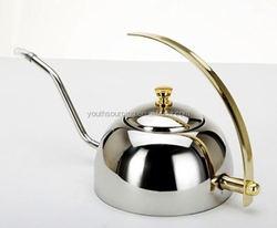 1.0L insulated stainless steel arabic coffee pot/turkish coffee pot/vacuum jug