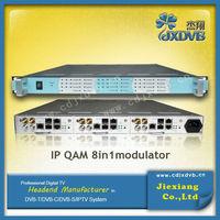 Digital Headend Dvb-c 24 Channels Qam Modulator,Digital TV Signal Converter