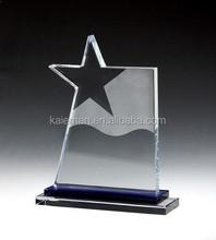 high-grade K9 crystal trophy five-pointed star trophy Crystal trophy creative custom