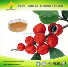 Organic guarana seed extract / guarana extract with caffeine 20%