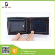 Top level luxury design men leather wallet coin pocket