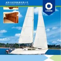 10.25m (34') FRP sail boat