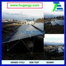 Hot Sale Solar Ground Aluminium Mounting Structures Easy Installation