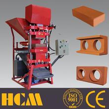 ECO2700 soil cement or clay interlocking block machine in Kenya
